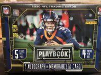 2020 Panini Playbook Football NFL Mega Box Brand New Factory Sealed