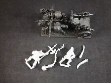 Classic Warhammer Metal Warriors of Chaos Chariot + Crew (Complete / Assembled)