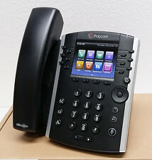 NEW Polycom VVX 411 12 Lines PoE SIP VoIP Business Media Phone (2200-48450-025)