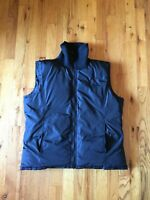 Vintage 90s Calvin Klein Goose Down Nylon Puffer Vest Embroidered Mens Small