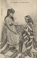 PC ETHNIC NUDE FEMALE TYPE, ALGERIA Vintage Postcard (b5453)