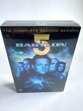 1994-1995 BABYLON 5 complete second season 6 DVD 22 EPISODE Sci-Fi TV NEW SEALED