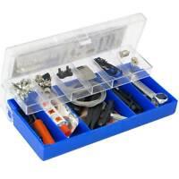 Kit 64x pezzi strumenti riparazione bici bicicletta professionale manutenzione