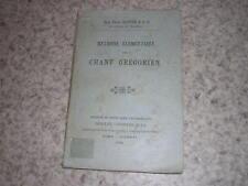 1904.méthode élémentaire de chant grégorien / Dom Pierre Bastien
