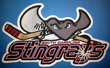 South Carolina Stingrays ECHL NHL Hockey Front Jersey Iron On Patch Crest B