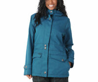 Empyre Nomad Jacket Womens Snowboard Ski 10k Waterproof Insulated Denim Blue M