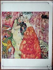 Print GUSTAV KLIMT The Friends 1966 ART NOUVEAU