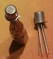 2 Stck. BFW30 npn Silizium Transistor Philips RF-Breitband Transistor TO72  NOS