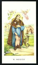 santino-holy card EGIM n.271 S.ROCCO