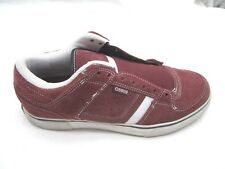 Osiris Chino Low Burgundy red maroon suede skate mens tennis sneakers shoes 8D