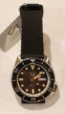New Old Stock Black Seiko 5 Automatic Sports Watch