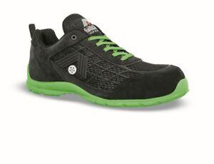Aimont Sicherheitsschuh Green Größe 45 schwarz/grün Arbeits-Schuh Style