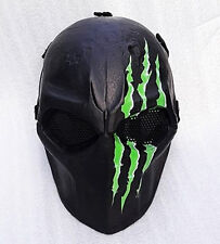Airsoft Mask Helmet Army of Two Paintball BB Gun Protective Gear Cosplay Monster