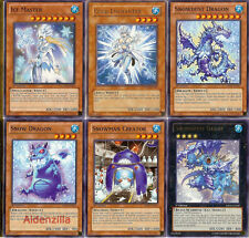 Yugioh Ice Counter Water Deck - Snowdust Giant, Cold Enchanter, Ice Master