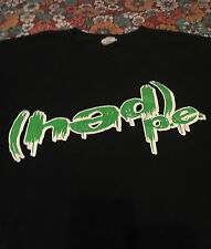 VTG 90s Hed PE T Shirt 2XL Band Tour Concert Black Green Logo Ozzfest Nu Metal