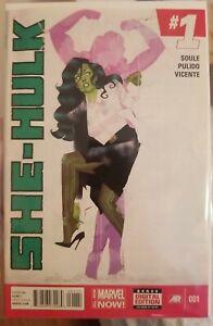 she hulk 1  2014 first print unread NM+ marvel she-hulk