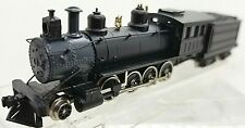 N Roundhouse 8000 2-8-0 Locomotive Painted Black, Unlettered (Tested) LNIB