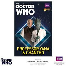 PROFESSOR YANA & CHANTHO  - DR WHO - WARLORD GAMES -  BBC  - SENT FIRST CLASS -
