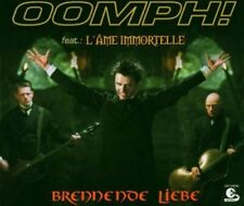 Oomph! + Maxi-CD + Brennende Liebe (2004, feat. L'Âme Immortelle)