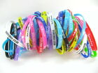 50X Mixed sport friendship Love Color or Night glow silicone wristbands bracelet