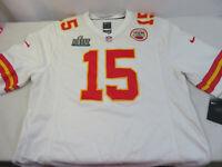 Kansas City Chiefs NFL Patrick Mahomes Nike Super Bowl LIV Game Jersey White S