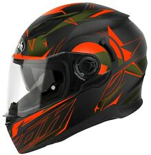 CASCO MOTO INTEGRALE DOPPIA VISIERA AIROH MOVEMENT MESH ORANGE MATT TG XL