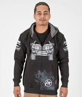 Ford Ranger 4x4 Offroad Car Mens Zip Up Hoodie Jacket