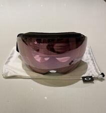 Oakley Flight Deck Goggles — Matte Black / Prizm Snow Hi Pink Iridium Lens