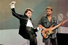 U2 in concert at LIVE AID Wembley 1985! 40 Exclusive & Historic Onstage PHOTOS!