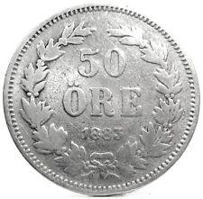 SWEDEN (SVEZIA) 50 ORE 1883