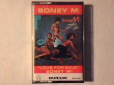 BONEY M Love for sale mc cassette k7 ITALY COME NUOVA LIKE NEW!!!