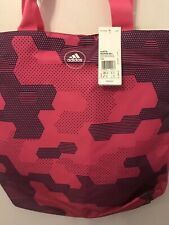 610ba2c24a adidas Women Training Graphic SHOPPER Duffel Bag Pink AJ9778