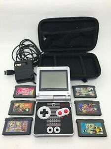 Nintendo Classic NES Limited Edition Game Boy Advance SP + 157 games PERFECT