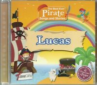 LUCAS - THE BEST EVER PIRATE SONGS & STORIES PERSONALISED CHILDREN'S CD
