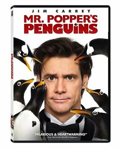 DVD - Comedy - Mr. Popper's Penguins - Jim Carrey - Carla Gugino - Mark Waters