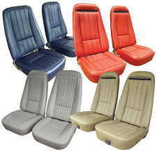 70 71 72 73 74 75 76 Corvette Vinyl Seat Cover Set, NEW, All Factory Colors