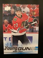 2019-20 UPPER DECK SERIES 2 YOUNG GUNS KIRBY DACH CHICAGO BLACKHAWKS (#451)