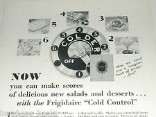 1929 Frigidaire refrigerator advertisement, electric icebox
