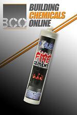 Fixology Black Fire Cement  - 300ml Tube for Flues, Fires & Stoves etc  **BN**