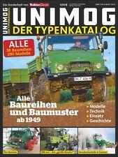 Typenkatalog Unimog TRAKTOR CLASSIC SPECIAL Typen Modelle Preise Baureihen Buch
