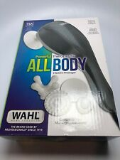 Wahl 4120-1801 All Body Therapeutic Massager 2 Speeds 9 Ft Cord 4 Attachments