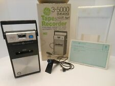 Vintage Ge Tape Recorder 3-5000 (M8405) portable Cassette