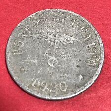 PHILIPPINES CULION LEPER COIN 1920 TEN CENTAVO KM-9 #837