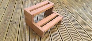 Handmade wooden Hot tub, Spa, Pool, Caravan, Motorhome steps