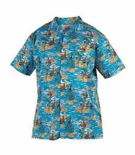 DUKE BIG MENS KINGSIZE SHORT SLEEVE HAWAIIAN SHIRT 4XL NEW