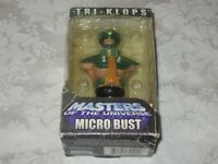 NECA Masters of the Universe Micro Bust MOTU 2004 Tri-Klops Action Figure