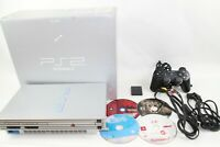 Sony PlayStation2 SCPH-39000 silyer Console JP BOX PS2 Japan tested working