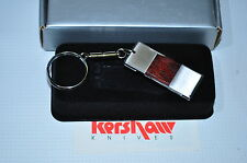 Kershaw 6500 Key Ring Chain Knife with a rosewood inlay Handle Made in Japan