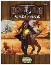 Savage wordls deluxe DEADLANDS PLAYER'S GUIDE Hardcover pinnacle 10204