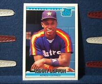 Kenny Lofton RC 1992 Donruss Rated Rookie #5 Houston Astros NM (B)